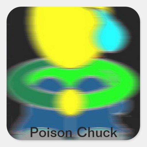 De Sticker van de Klem van het vergift [Logo]