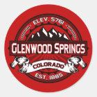 De Sticker van de Kleur van Glenwood Springs