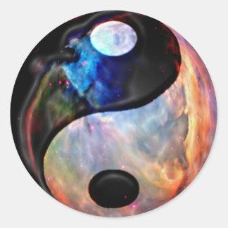 De sticker van de Nevel van Yang van Yin