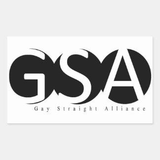 De Sticker van de Rechthoek APSU GSA