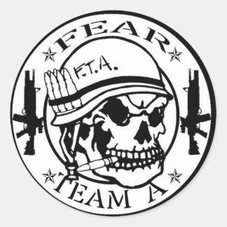 De Sticker van de Stijl van Nam van de vrees
