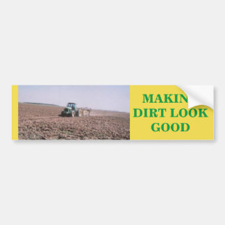 De sticker van de tractor