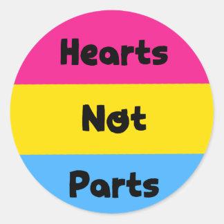 De Sticker van de Trots van Pansexual van de Delen