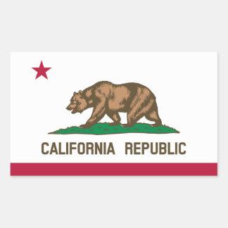 De Sticker van de Vlag van California*
