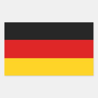 De Sticker van de Vlag van Duitsland