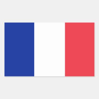 De Sticker van de Vlag van French*