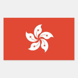 De Sticker van de Vlag van Hong Kong *