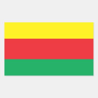 De Sticker van de Vlag van Koerdistan van Rojava