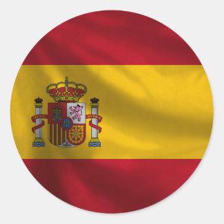 De Sticker van de Vlag van Spanje