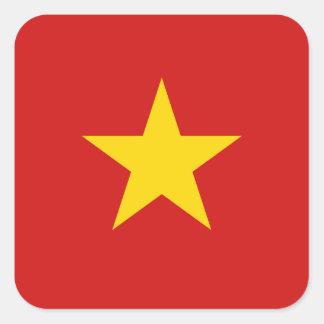 De Sticker van de Vlag van Vietnam