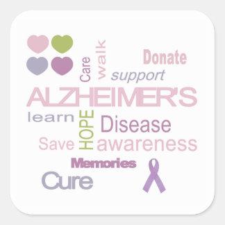 De Sticker van de Voorlichting van de Ziekte van