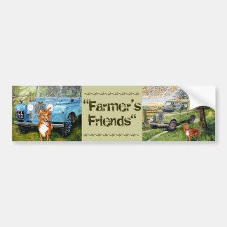 De Sticker van de Vrienden van de landbouwer…