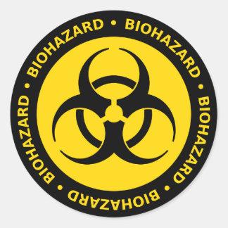 De Sticker van de Waarschuwing van Biohazard