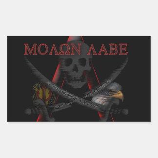 De Sticker van de Weerstand van Labe van Molon