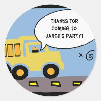 De Sticker van de Zak van de Gift van de Partij