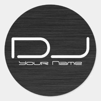 De Sticker van DJ