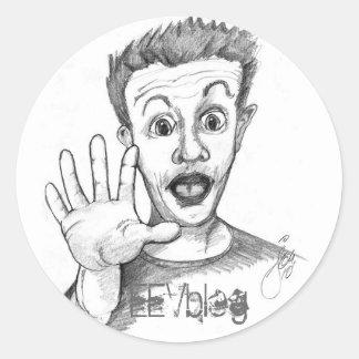 De Sticker van EEVblog van DaveHead