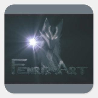 De Sticker van FenrirArt
