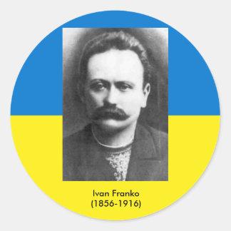 De Sticker van Franko van Ivan