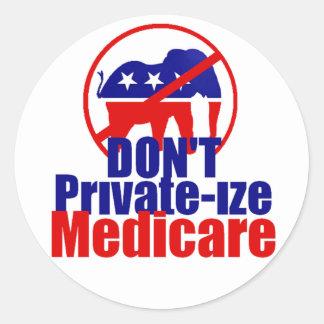 De Sticker van gezondheidszorg voor bejaarden