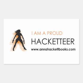 De Sticker van Hacketteer