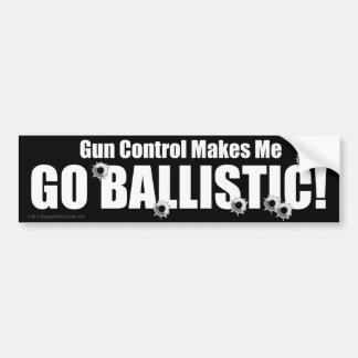 De sticker van het anti-pistool