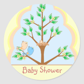 De Sticker van het Baby shower van de Familie van