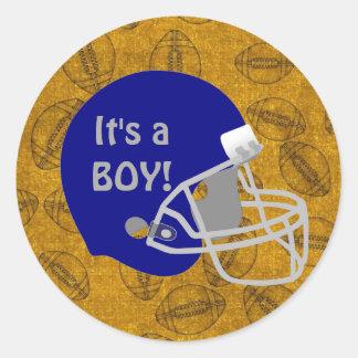 De Sticker van het Baby shower van de Jongen van