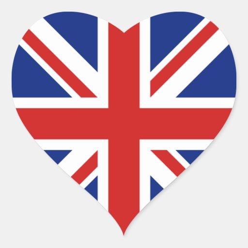 Schoudertas britse vlag : De sticker van het britse hart vlag zazzle