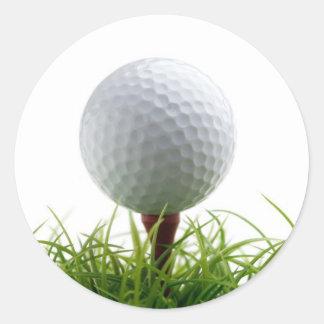De sticker van het golf