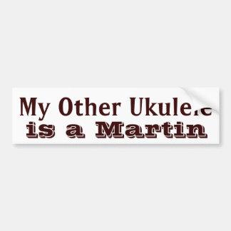 """De Sticker van het Hoesje van de Ukelele van """"mijn"""