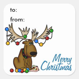 De Sticker van het Label van de Gift van de