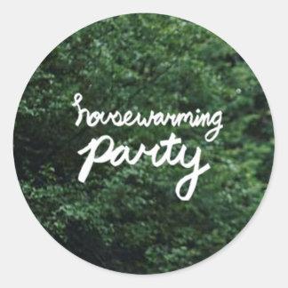 De Sticker van het Logo van de PARTIJ van het