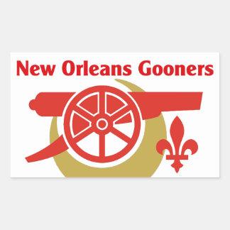 De Sticker van het Logo van NOLA Gooners