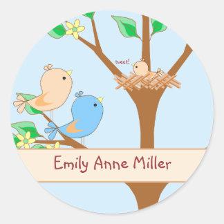 De Sticker van het Meisje van het Baby van de Fami