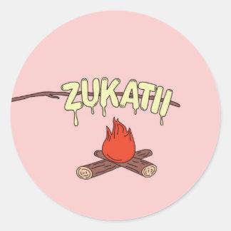 De Sticker van het MOERAS van Zukatii