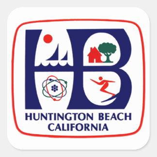De Sticker van het Strand van Huntington