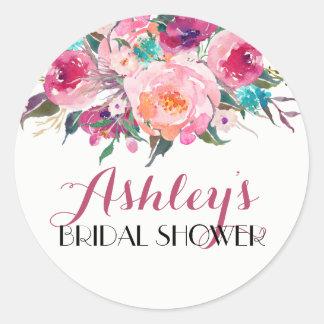De Sticker van het Vrijgezellenfeest van de bloem