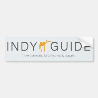De sticker van Indy van de Gids (auto/deur)