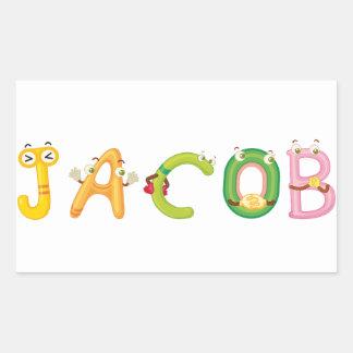 De Sticker van Jacob