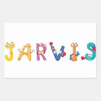 De Sticker van Jarvis