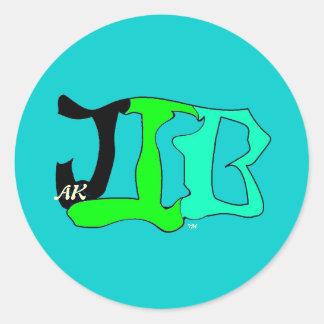 De sticker van JIBak