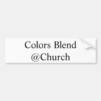 """De Sticker van kleuren van het Mengsel """"@Church"""""""