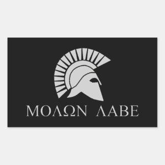 De Sticker van Labe van Molon - Blad van 4