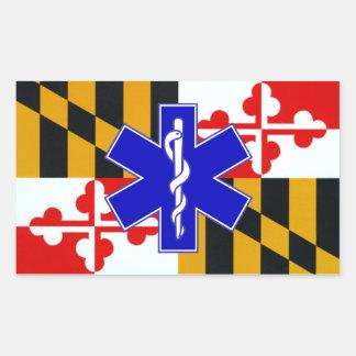 De sticker van Maryland EMT