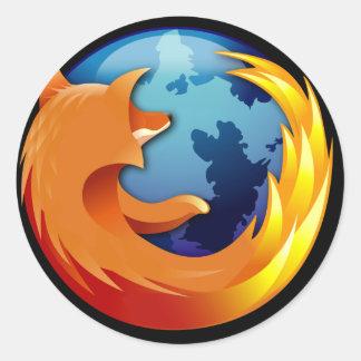 De Sticker van Mozilla