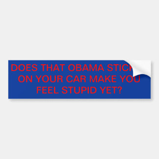 De Sticker van Obama