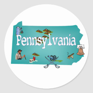 De Sticker van Pennsylvania