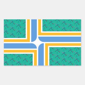 De Sticker van Portland van het Tapijt van de