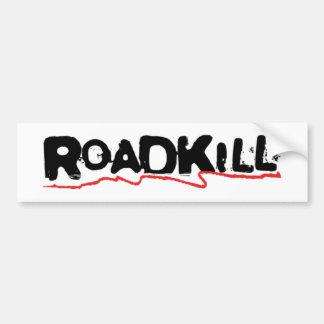 De Sticker van Roadkill